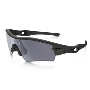 9258306aef1 Quick View · cheap Oakley Radar Path sunglasses matte black frame   grey  lens ...