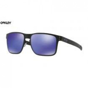 f265ac601ee Quick View · cheap Oakley Holbrook Metal sunglasses Matte Black frame  Violet Iridium lens ...